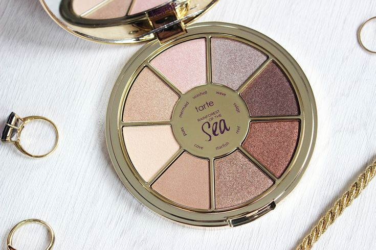 Tarte Rainforest of the Sea eyeshadow palette review | Tales of a Pale Face | UK beauty blog