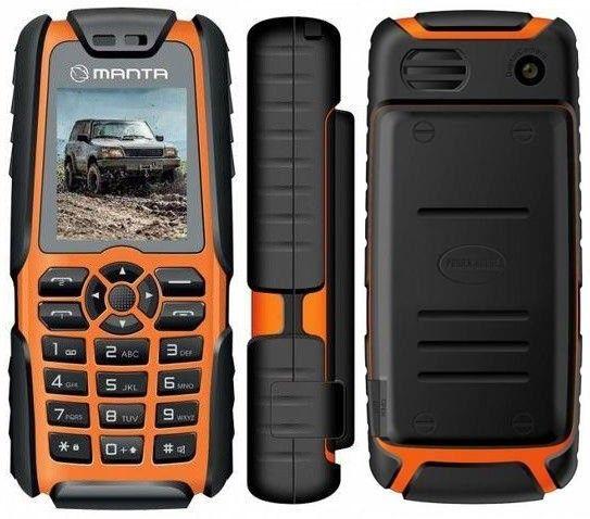Fiabilitate, durabilitate, rezistență și încredere! Cumpărați acum telefonul Manta Off-Road Power TEL1703 Dual SIM la doar 185 lei.  Manta Off-Road îmbină rezistența la șocuri, stropi, vibrații și praf cu funcționalitatea cu performanța smartphone-urilor moderne.   Acumulatorul are o capacitate foarte mare, de 5000 mAh, ceea ce se traduce într-o baterie care rezistă extrem de mult. Atât de mult încât acumulatorul poate fi folosit și ca Power Bank (acumulator extern) pentru alte telefoane.