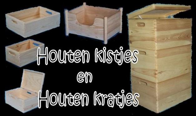 houten kistjes en kratjes