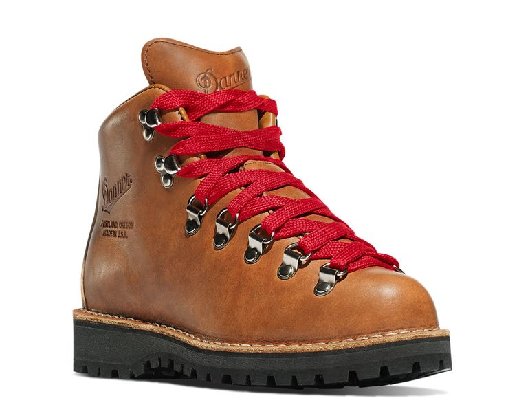 Danner hiking boots. I used to actually have a simple pair of hiking boots as a kid that looked similar. I've always liked the style of these. And they're quality boots.