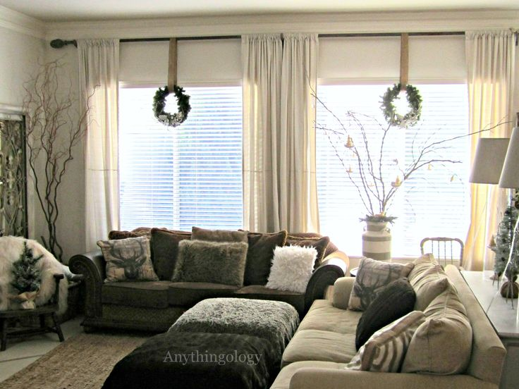 Wreaths From Curtain Rods Seasonal Pinterest How To