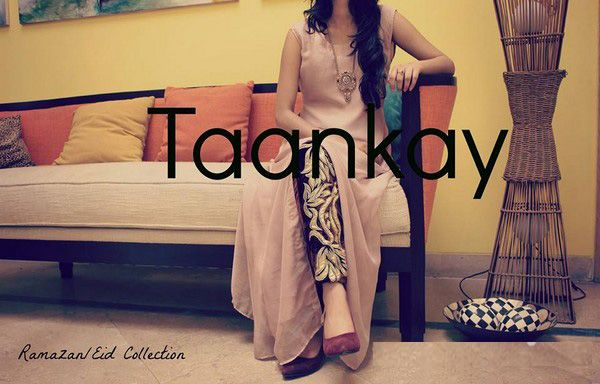 Taankay Eid ul Fitr Collection 2014 for Women has been launched. These Eid Dresses Collection 2014 by Taankay have fully modernity and awesome styles. Taankay Eid ul Fitr 2014 Clothing is launched in floral and different designs.