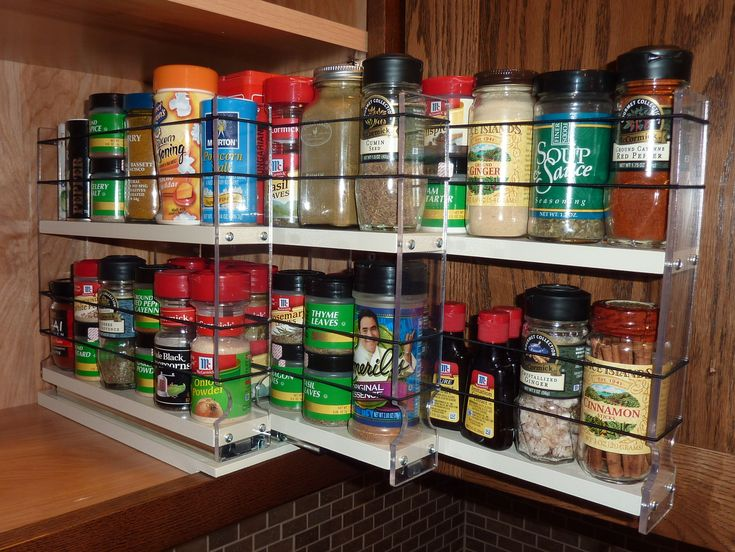 Beau Kitchen Organizer:Spice Drawer Organizer Rotating Rack Jars Ikea Kitchen  Organizers Seasoning Holder Cabinets Container