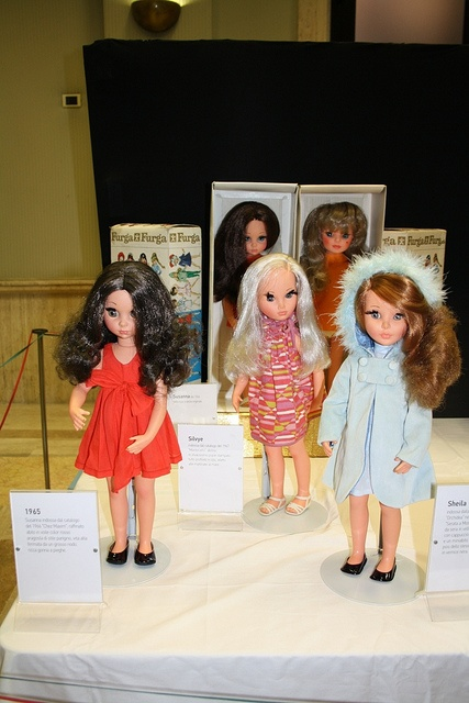 My sis had the black haired doll and I the auburn one! Furga Dolls 1960's from Bullocks!