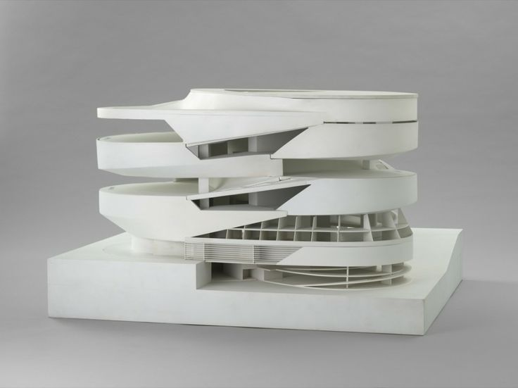 © MoMA. Ben van Berkel (Dutch 1957) and Caroline Bos (Dutch 1959) Mercedes-Benz Museum Model 2001-2006.
