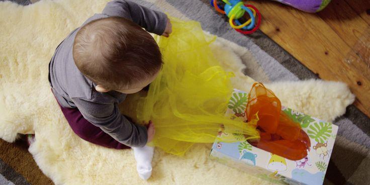 Babyspielzeug DIY: Die Zauberbox