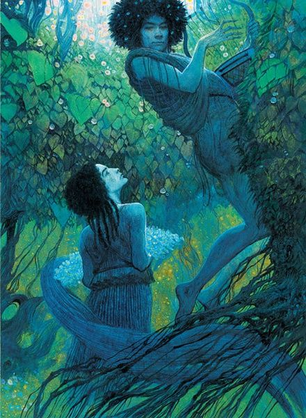 Doing some research for Compendium, have come across so many beautiful paintings; çizgili masallar: Greek Mythology illustrated by Svetlin Vassilev