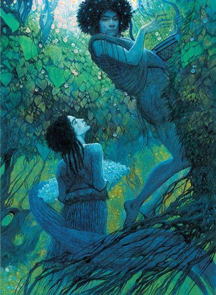 Greek Mythology illustrated by Svetlin Vassilev: