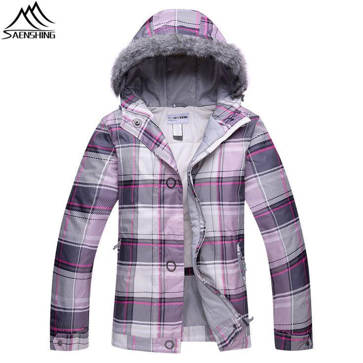Saenshing Cheap ski jacket women ski clothing Waterproof thermal snow jacket female breathable outdoor skiing snowboard jackets