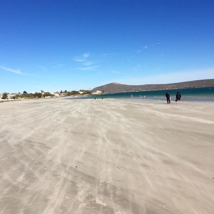 The wind was a bit too much to enjoy a picnic at the #langebaan lagoon. #CapeTown