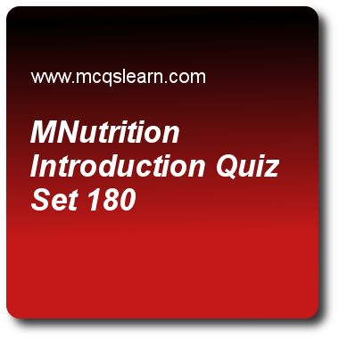 Nutrition Introduction Quizzes: O level biology Quiz 180 Questions and Answers - Practice biology quizzes based questions and answers to study nutrition introduction quiz with answers. Practice MCQs to test learning on nutrition: introduction, biotic and abiotic environment, piliferous layer, fertilization and post fertilization changes, voluntary and reflex actions quizzes. Online nutrition introduction worksheets has study guide as in order to digest polypeptides, they are converted into..