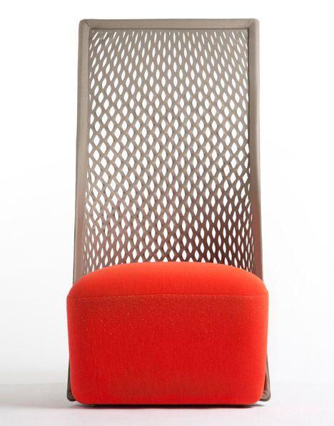 chaise hamac by benjamin hubert