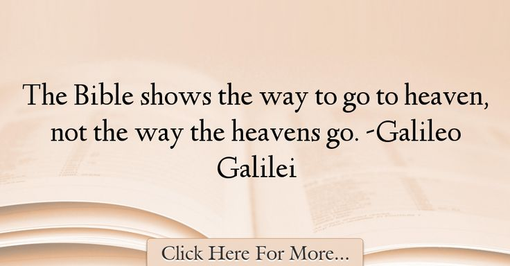 Galileo Galilei Quotes About Religion - 58452