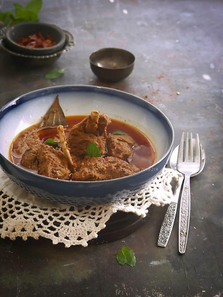 Mutton Rogan Josh: Kashmiri Mutton Curry with Yogurt and Spices