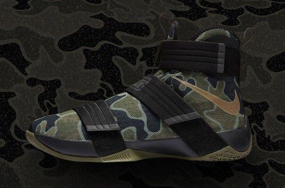http://SneakersCartel.com Official Images And Release Date For The Nike LeBron Zoom Soldier 10 Camo #sneakers #shoes #kicks #jordan #lebron #nba #nike #adidas #reebok #airjordan #sneakerhead #fashion #sneakerscartel