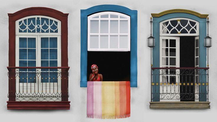 Samarco - Janelas - Ilustração desenvolvida para campanha institucional da Samarco em parceria com a 18 Comunicação. Técnica: Pintura digital