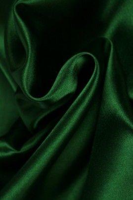 Satijn donker groen - 32
