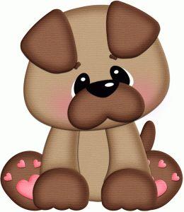 Perro en tela