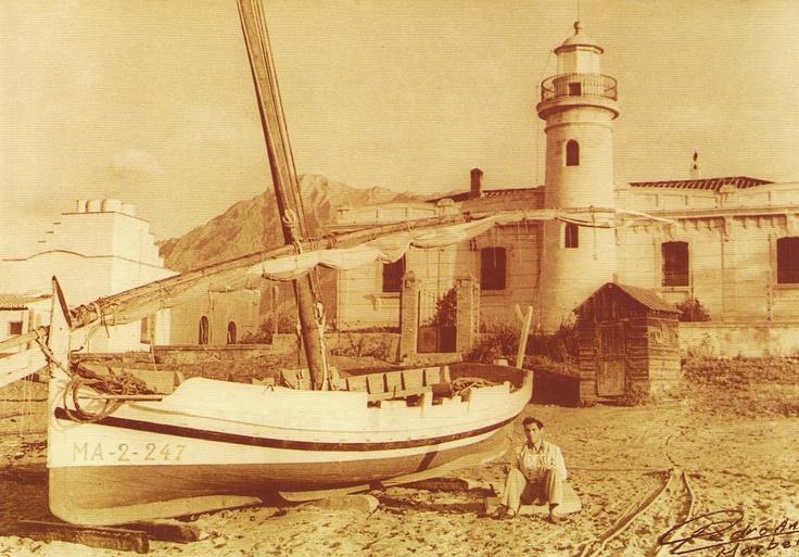Antiguo faro de Marbella