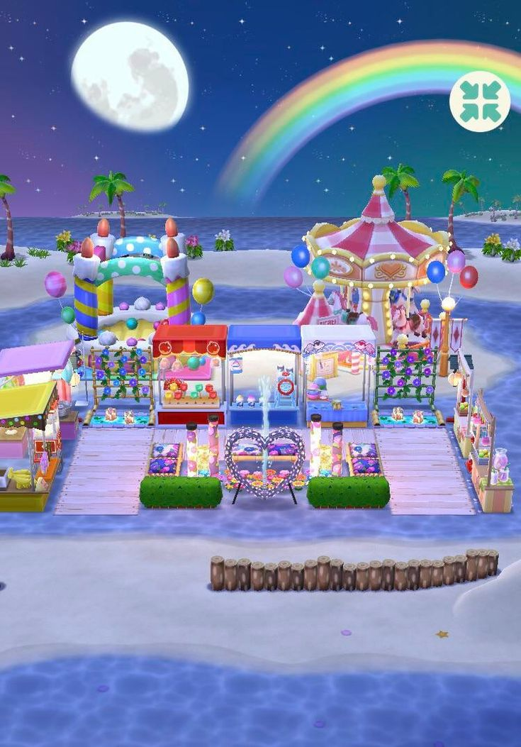 My Summer Beach Boardwalk Festival. I Really Love How This