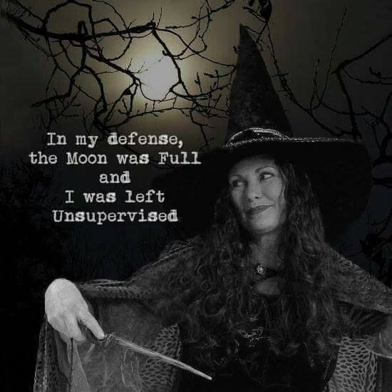 A Witch Bitch!                                                                                                                                                                                 More