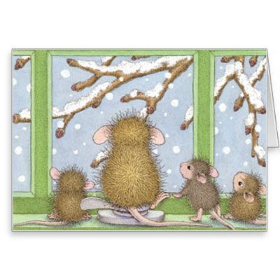 """8 Notecards  & 8 Envelopes"", Stock #: N2016-12B, from House-Mouse Designs®. This item was recently purchased off from our web site. Click on the image to see more information."