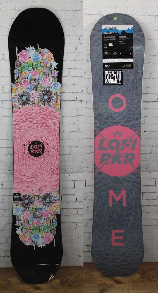 New 2016 Rome LoFi Rocker Womens Snowboard 146 cm LO-FI Lo Fi in Sporting Goods, Winter Sports, Snowboarding | eBay