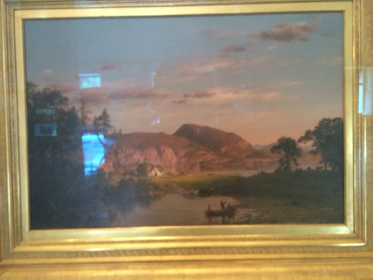 Churches _Home by the Lake_ and a few other works by notable Hudson River School painters are on display for a brief time at The New York Historical Society.