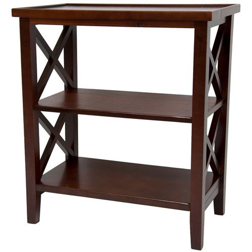 26 Inch Architectural Book Case Table Cherry, Width 23.5 Inches Oriental  Furniture End, 23.5