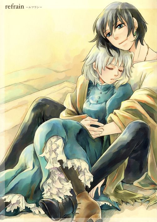 Howl and Sophie ~Howl's Moving Castle by http://www.mangaupdates.com/authors.html?id=5892