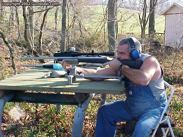 Rifle Shooting Rest DIY