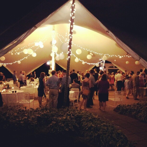 Outdoor receptions can be very classy with elegantly lighted tents. Twitter / Recent images by & 97 best
