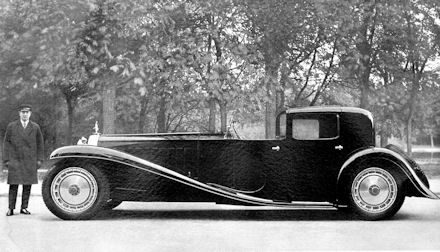 1931 buggati royale type 41 kellner-coupe.