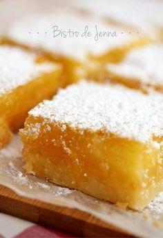 Carré aux citron Meyer : la recette facile