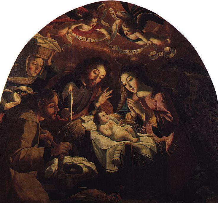 """Josefa de Óbidos, """"Adoração dos Pastores"""" (1669)"""