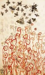 justyna medon PRINTS  wallpapers by red poppy