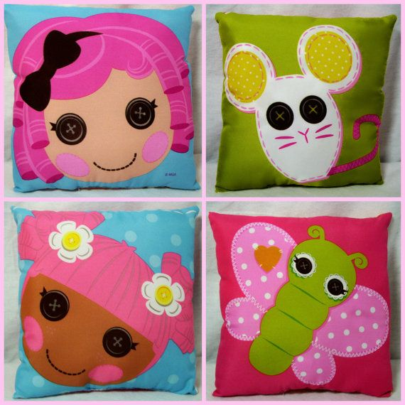 Handmade Lalaloopsy Mini Pillow Handmade by TheBestGrandmaEver, $7.00