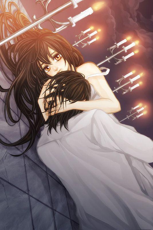 'Vampire Knight' - Yuuki and Kaname ¬¬