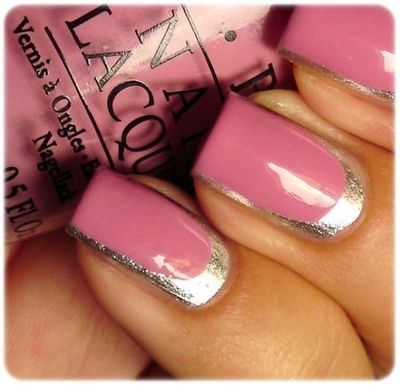 PINK WITH GOLD...LOVE IT!