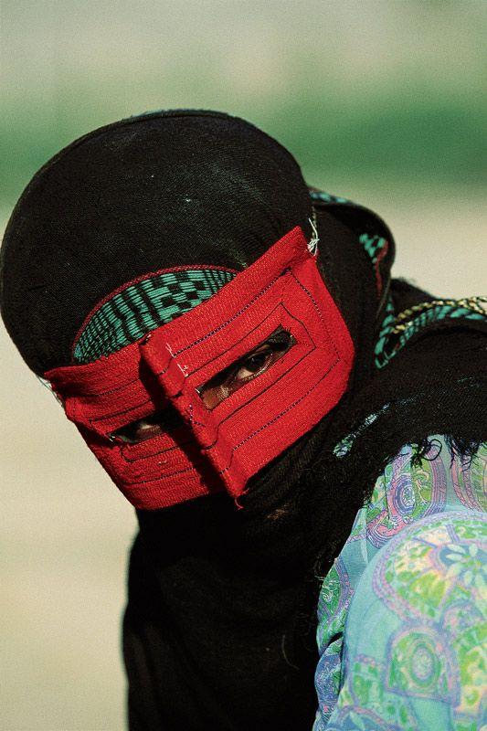 Minab woman in he jab. Iran. © Michael Yamashita