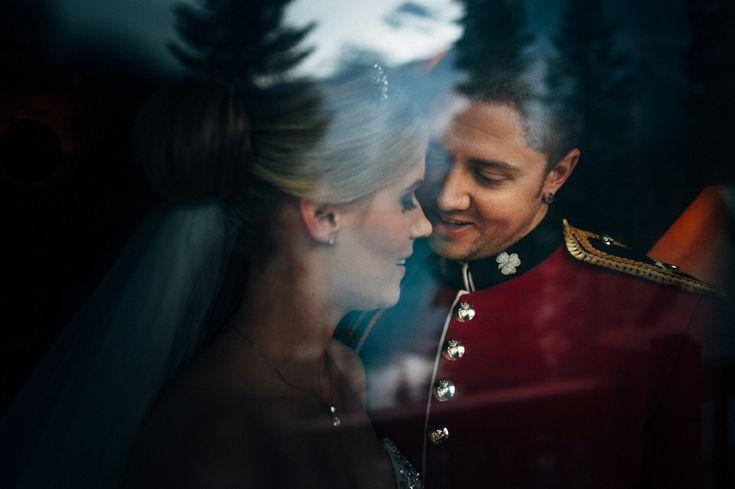 an Australian elopement at Emerald Lake Lodge.