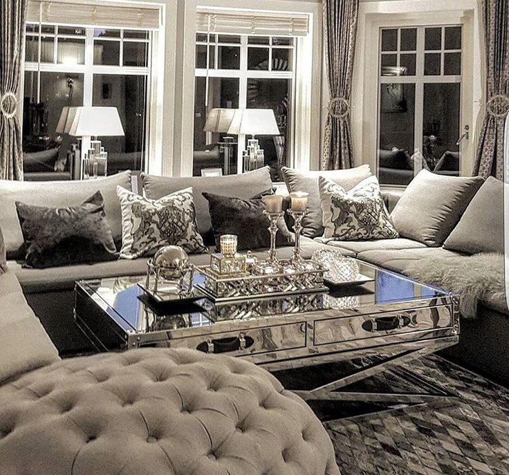 Best 25 silver living room ideas on pinterest grey living room furniture silver sofa and Gorgeous home decor pinterest