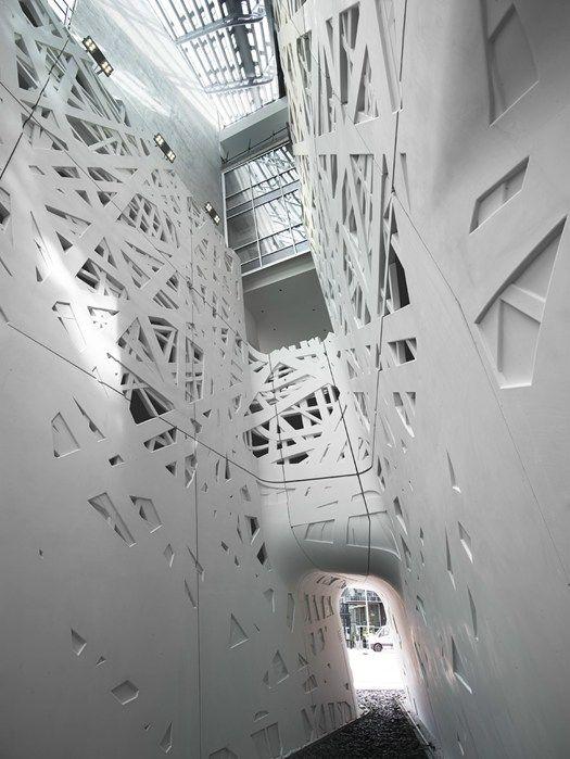 Italcementi per Palazzo Italia a Expo 2015 - Il cemento biodinamico i.active riveste il progetto firmato Nemesi & Partners @Expo2015Milano