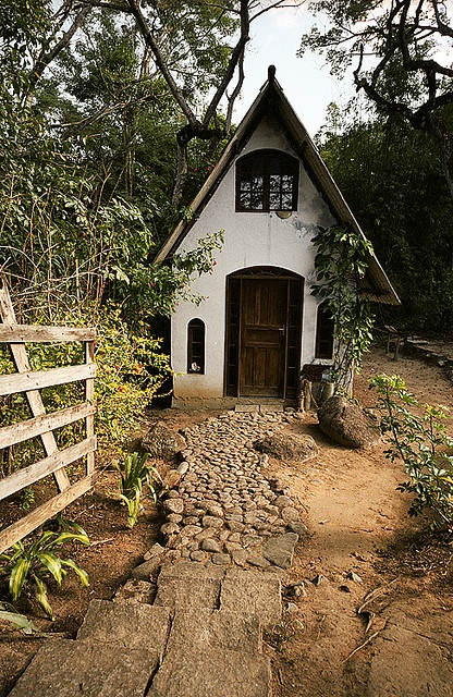 The Witch Cottage in Rio de Janeiro,Brazil