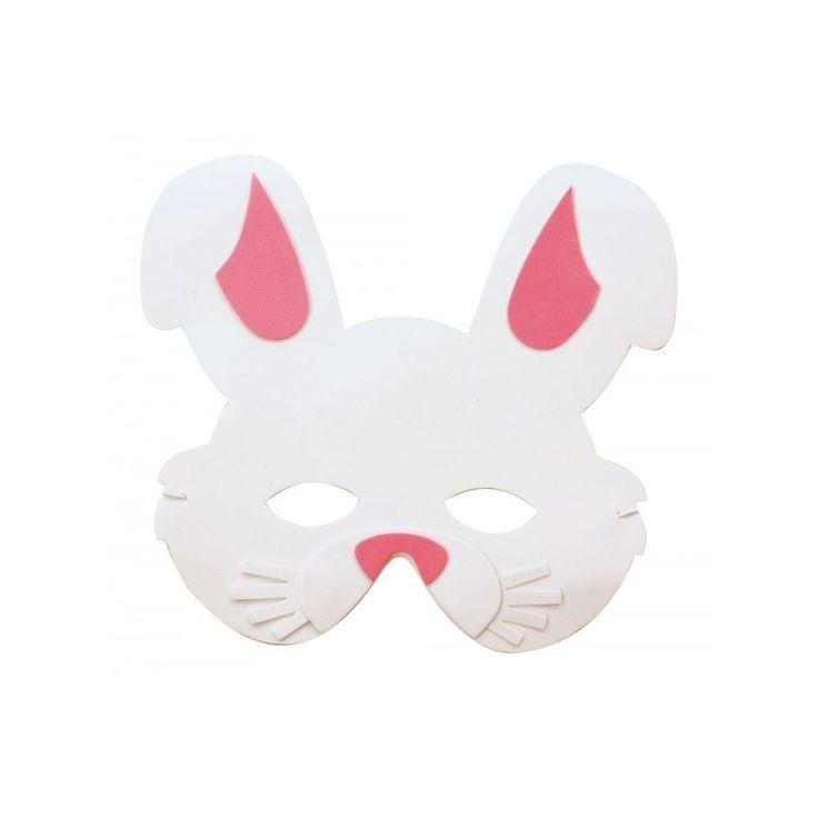 Un masque de lapin pour les enfants ! Parfait pour Pâques !