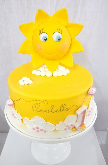{ A Touch of Sweetness }: Anabelles 1st Birthday Party - My Little Sunshine....