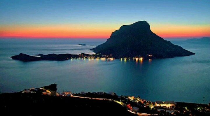 Telendos little aegran island close to Kalymnos Greece / Grekland