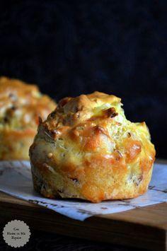 Muffins de Jamón y Queso - Con Harina En Mis Zapatos