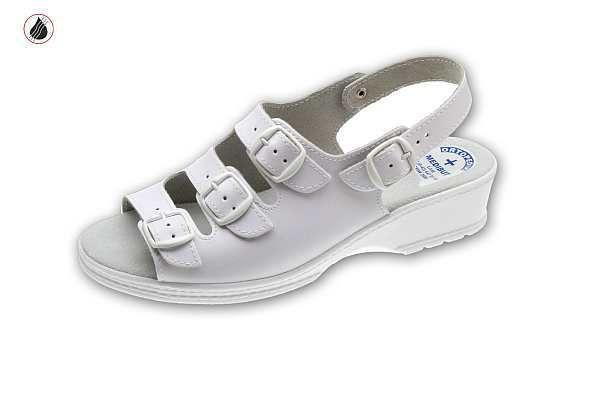 klumpa 05AD fehér, méret:35-41, ISO20347 OB (csak kereskedőknek,előrendelésre kapható)