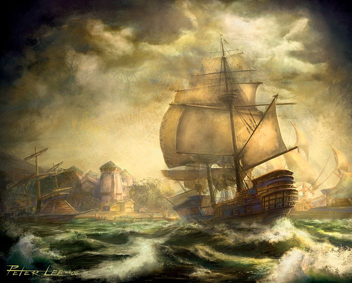 102 best pirate ships images on Pinterest | Pirate ships, Sailing ...
